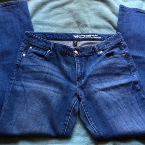 Gap Curvy Straight Fit Jeans Size 10